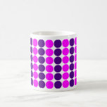 Stylish Gifts for Girls : Pink & Purple Polka Dots Mug