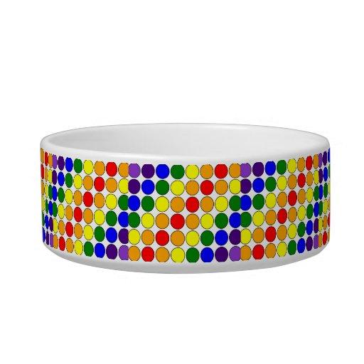 Stylish Gifts for Girls : Rainbow Polka Dots Bowl