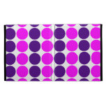 Stylish Gifts for Her : Purple & Pink Polka Dots iPad Case
