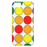 Stylish Gifts for Her : Rainbow Polka Dots iPhone 5C Case