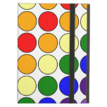 Stylish Gifts for Her : Rainbow Polka Dots iPad Cover