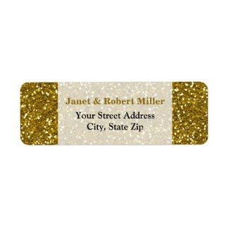 Stylish Glitter Gold