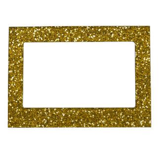 Stylish Glitter Gold Magnetic Photo Frame