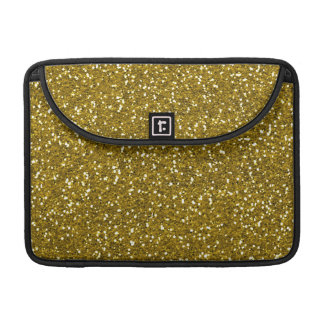 Stylish Glitter Gold Sleeve For MacBook Pro