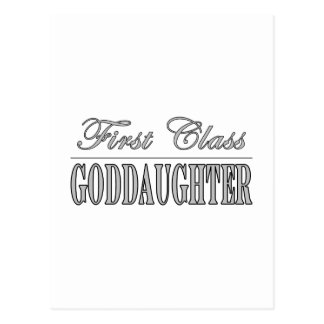 Stylish Goddaughters First Class Goddaughters Postcards
