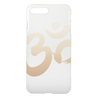 Stylish Gold Om Symbol Yoga iPhone 7 Plus Case