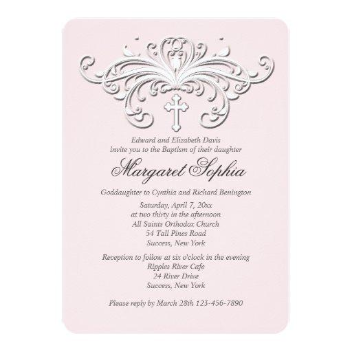 Stylish Grace Religious Occasion Invitation