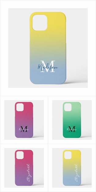 Stylish Gradient Case-Mate iPhone Cases