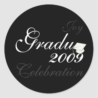 Stylish Graduation 2009 Sticker