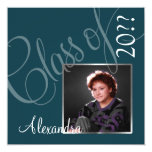 Stylish Graduation Announcement with Photo