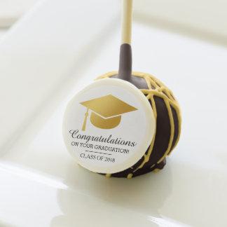 Stylish Graduation Congratulation Cake Pop