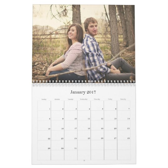 Stylish Gravel Gray Design 2012 Wall Calendar