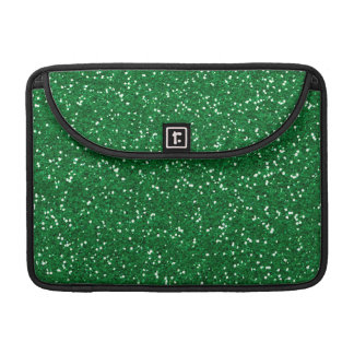 Stylish Green Glitter Sleeves For MacBook Pro