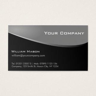 Stylish Grey, Company Business Card