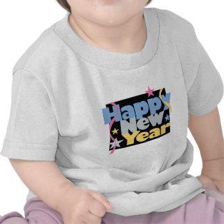 Stylish Happy New Year Tee Shirt