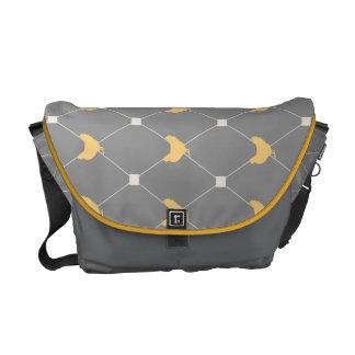 Stylish Harlequin Chicken Pattern Courier Bag