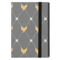 Stylish Harlequin Chicken Pattern Cover For iPad Mini