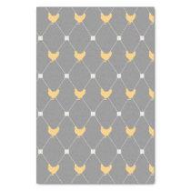 Stylish Harlequin Chicken Pattern Tissue Paper