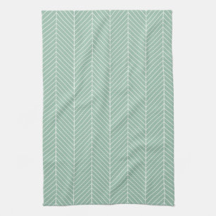 Pale Mint Green Kitchen Hand Towels