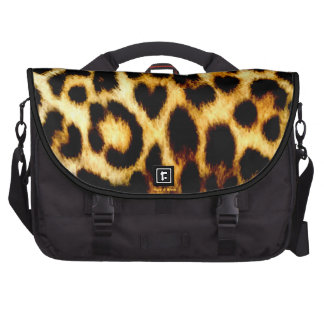 Stylish Holiday Christmas Wedding Leopard Pattern Laptop Bag