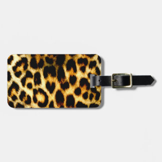 Stylish Holiday Christmas Wedding Leopard Pattern Tag For Bags