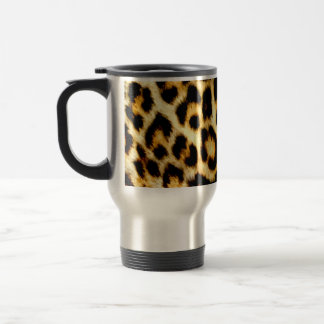 Stylish Holiday Christmas Wedding Leopard Pattern Coffee Mug