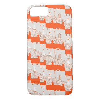 Stylish Home Sweet Home iPhone 7 Case Orange