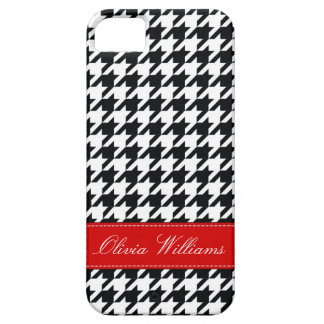 Stylish Houndstooth iPhone 5 Cover