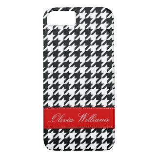 Stylish Houndstooth iPhone 8/7 Case