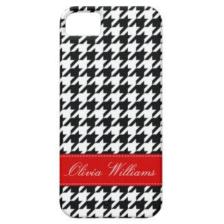 Stylish Houndstooth iPhone SE/5/5s Case