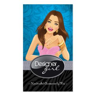 Stylish Jewellery Designer Business Cards