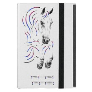 Stylish Jumping Jumper Horse Case For iPad Mini