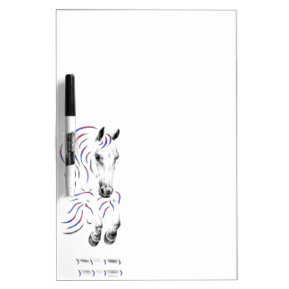 Stylish Jumping Jumper Horse Dry-Erase Boards