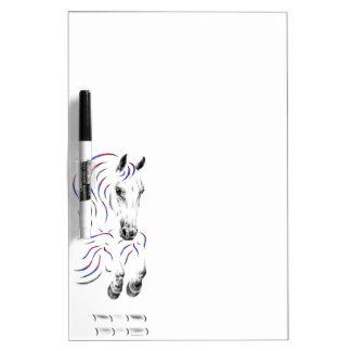 Stylish Jumping Jumper Horse Dry-Erase Whiteboards