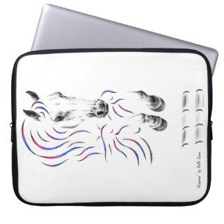 Stylish Jumping Jumper Horse Laptop Sleeve
