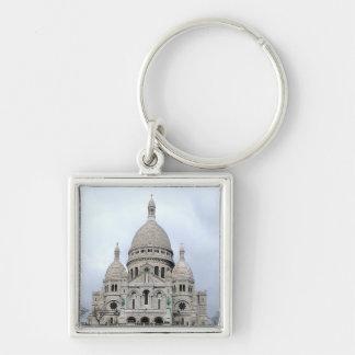 Stylish Keychain with Sacre Coeur de Paris