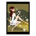 Stylish Lady - Greeting or Notecards Greeting Card