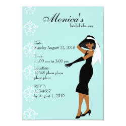 Stylish Lady Invitation