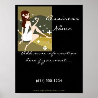 Stylish Lady - Promotional Poster/Print D2