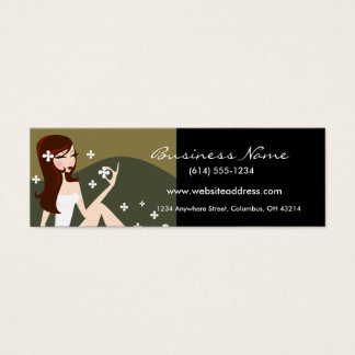 Stylish Lady - Small Business Card (Profile Card)