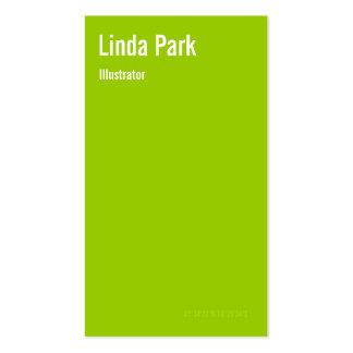 Stylish Latitude and Longitude Business Card