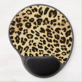 Stylish Leopard Animal Print Gel Mouse Pad