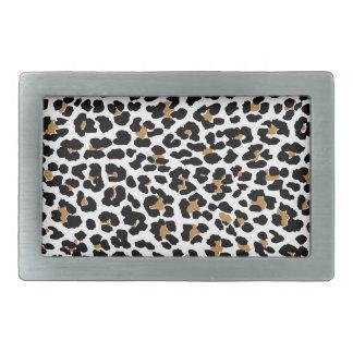 Stylish Leopard Print Belt Buckle