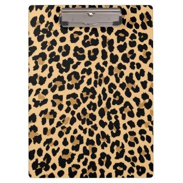stripedhope Stylish Leopard Print Clipboard