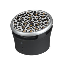 Stylish Leopard Print Speaker