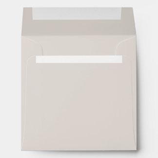 Stylish Light Beige Paper Envelope