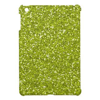 Stylish Lime Green Glitter Case For The iPad Mini