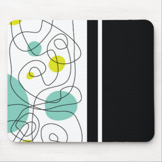 Stylish Lines Mouse Pad