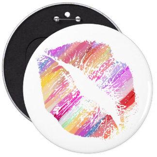Stylish Lips #10 Pinback Button