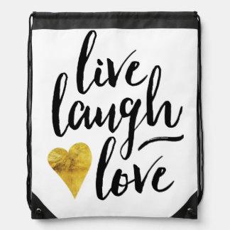 Stylish Live, Laugh, Love Bag